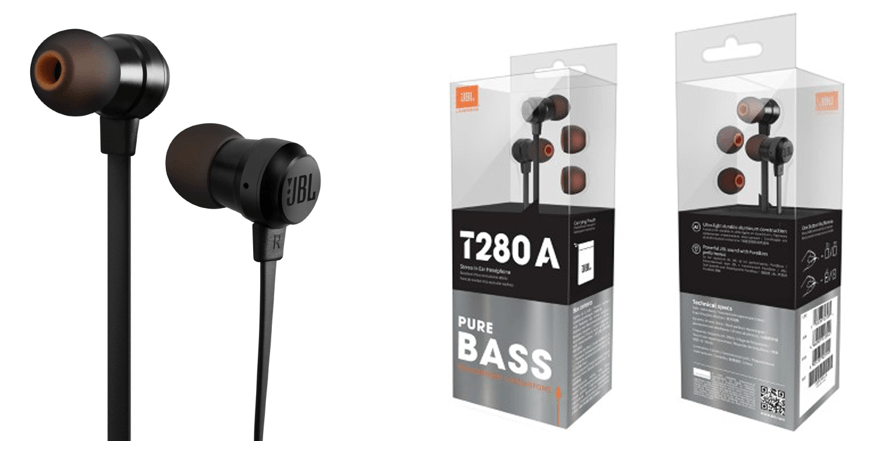 JBL T280A In-Ear Headphone